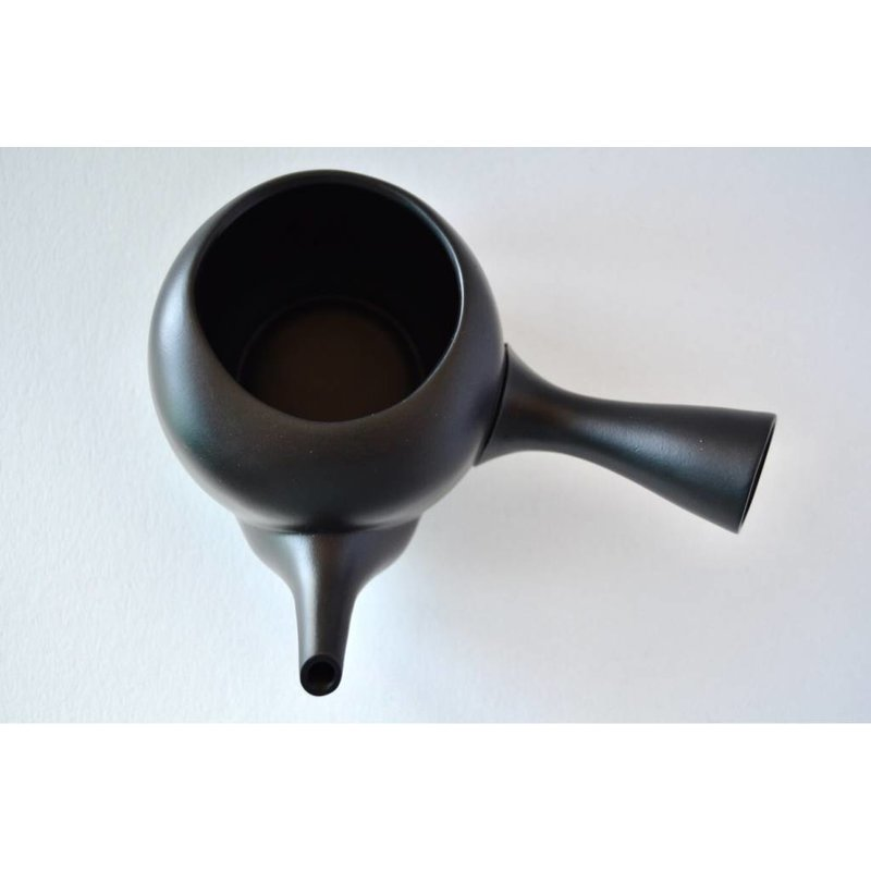 Kyusu Japanese teapot open