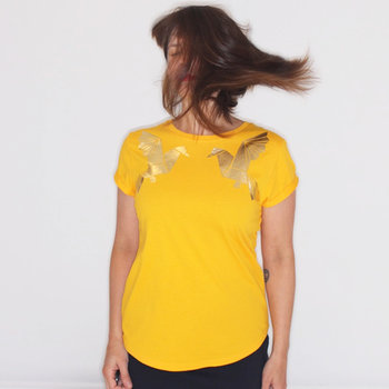 Dames T-Shirt Origami