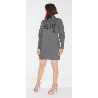 Ladies Sweater Dress Fish