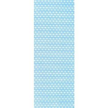 Tenugui Asanoha Blue