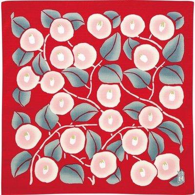 Furoshiki Camellia Red