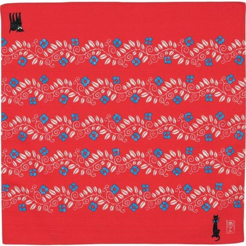 Furoshiki cat button cloth 48 cm