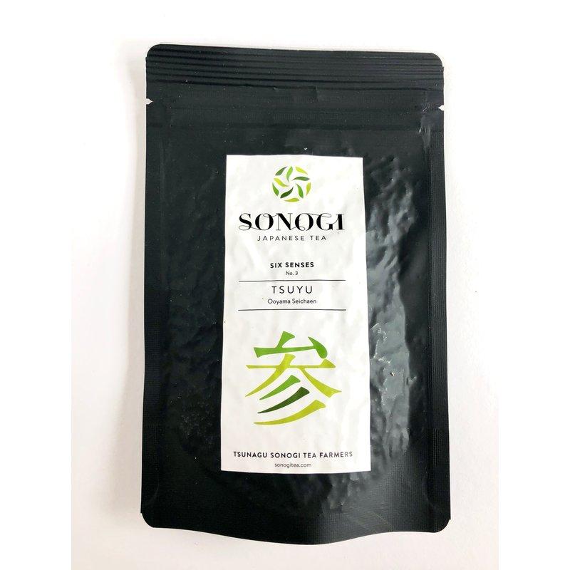 Sencha green tea from Sonogi
