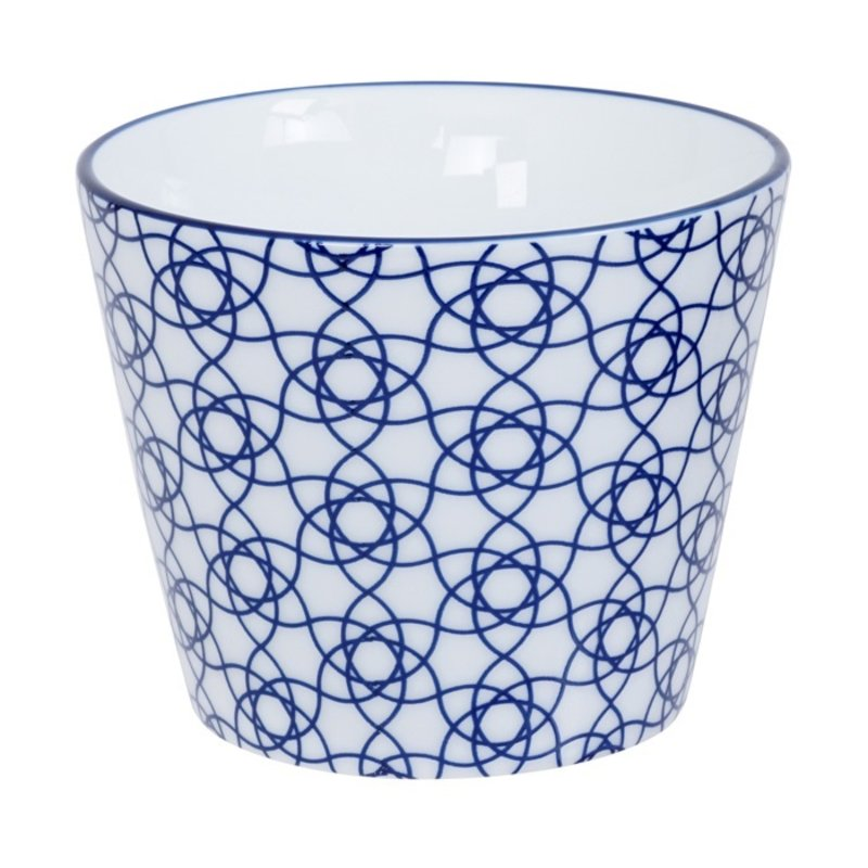 Japanese blue tea cup