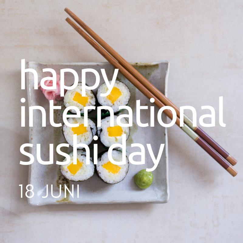 International Sushi Day: 5 tips om deze dag te vieren