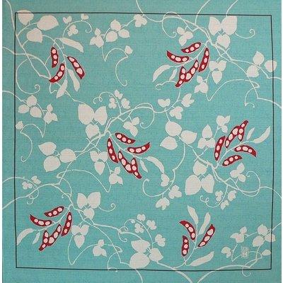 Furoshiki Mame Turquoise
