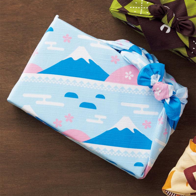 Furoshiki Japanese knot cloth sakura Fuji