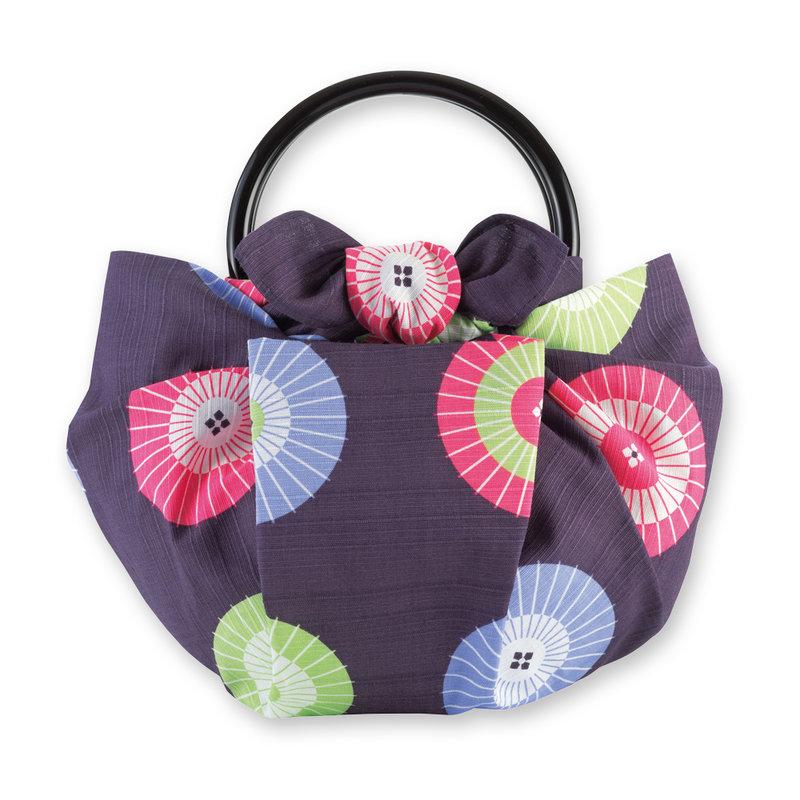 Furoshiki Japanese knot cloth parasol