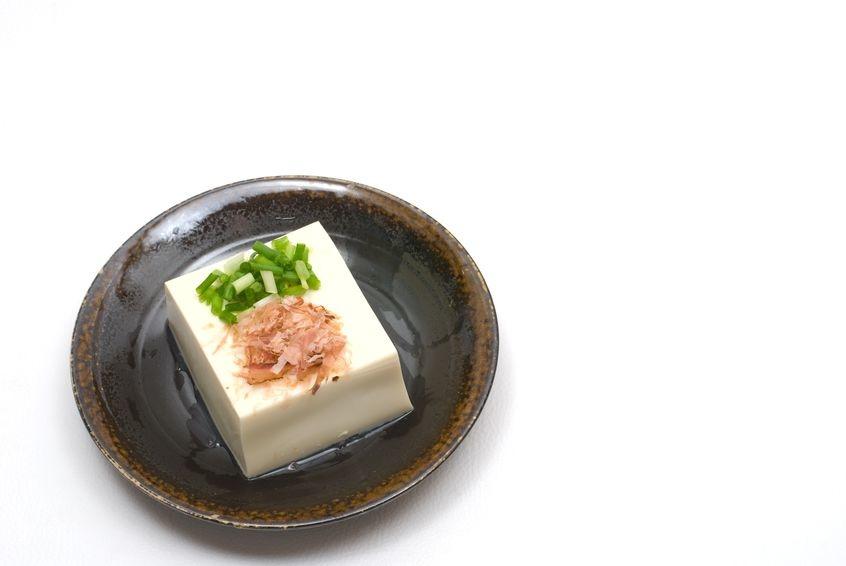 Japanse tofu salade