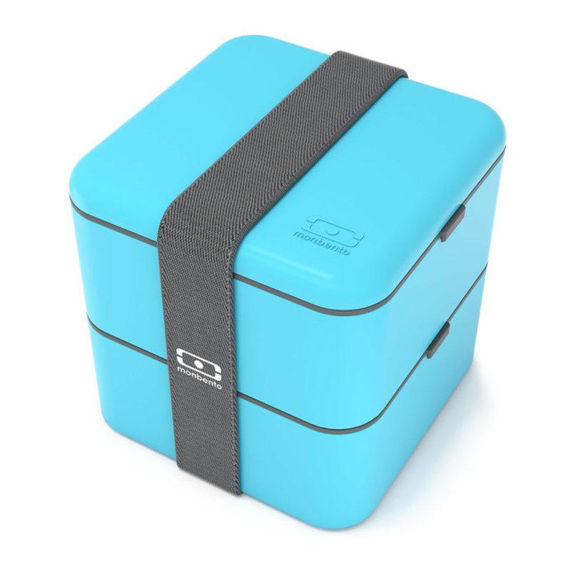 Monbento bentobox square blue