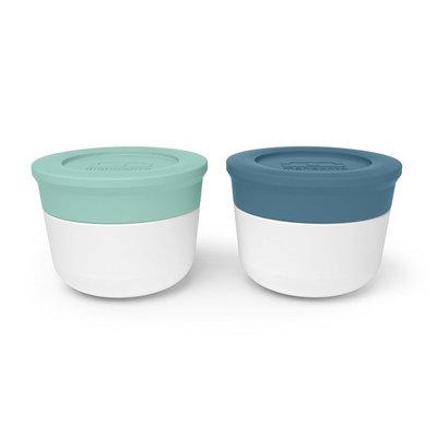 Monbento Matcha-Denim sauce cups