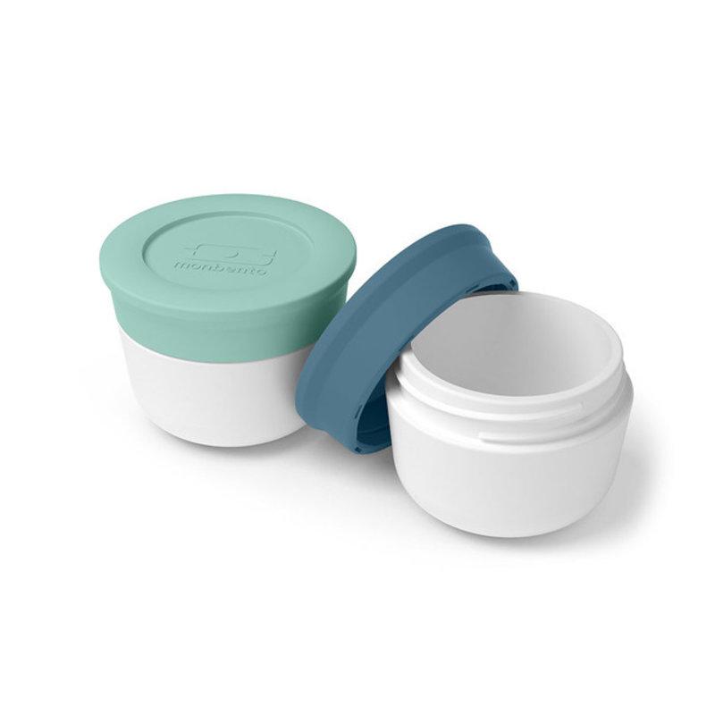 Monbento bentobox accessories sauce cups matcha denim