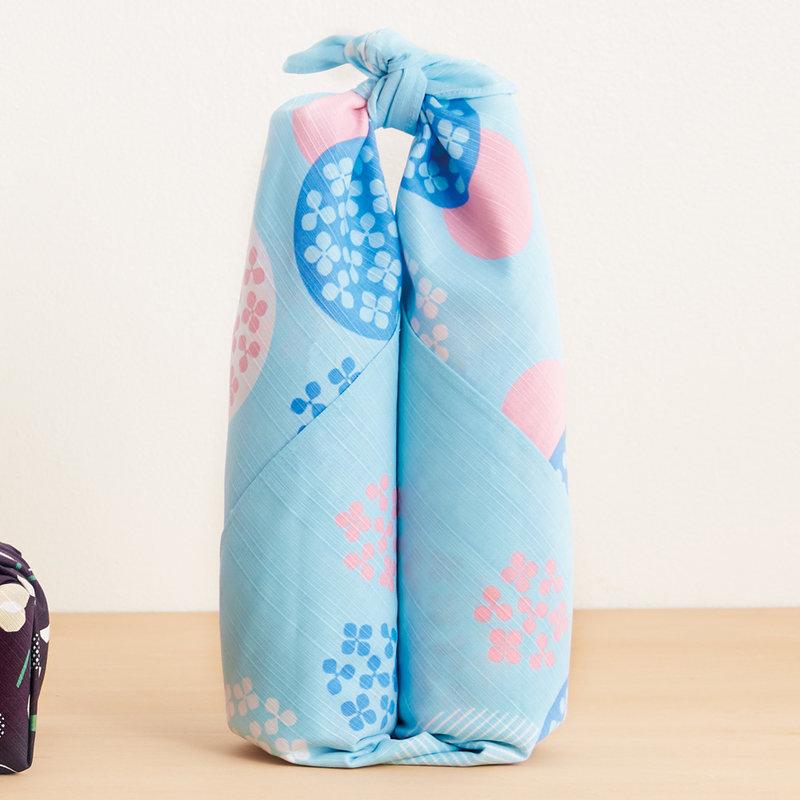 Furoshiki Japanse knoopdoek hortensia L