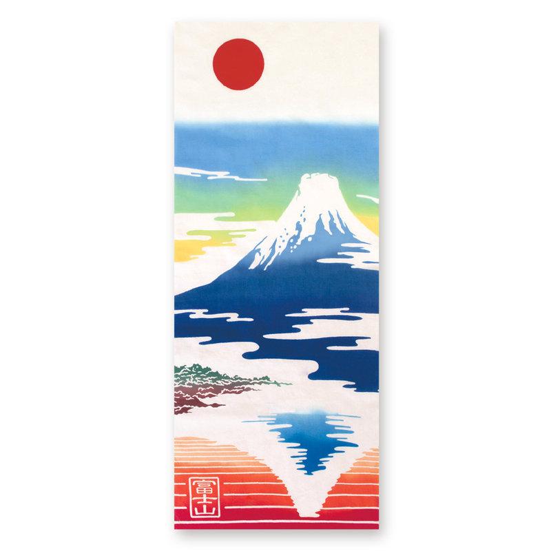 Tenugui Japanese cotton cloth Fujisan