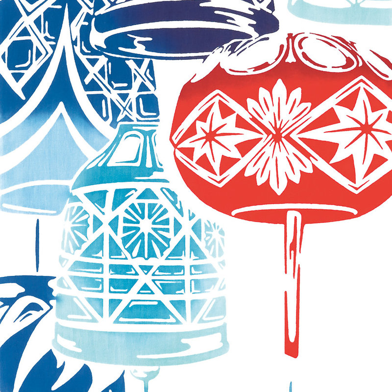 Tenugui Japanse katoenen doek furiin