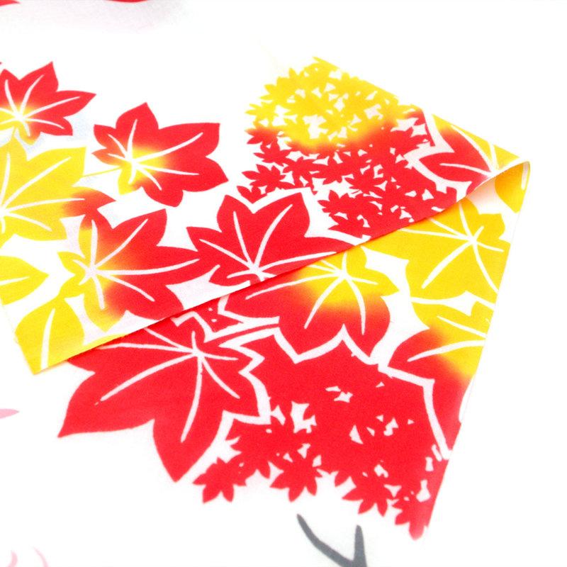 Tenugui Japanese cotton cloth momiji