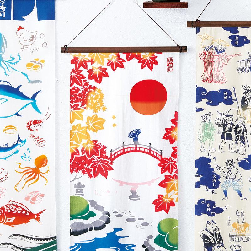 Tenugui Japanse katoenen doek Japanse tuin