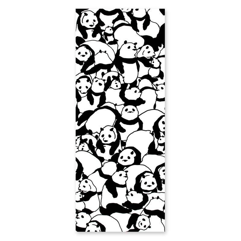 Tenugui Japanse katoenen doek panda