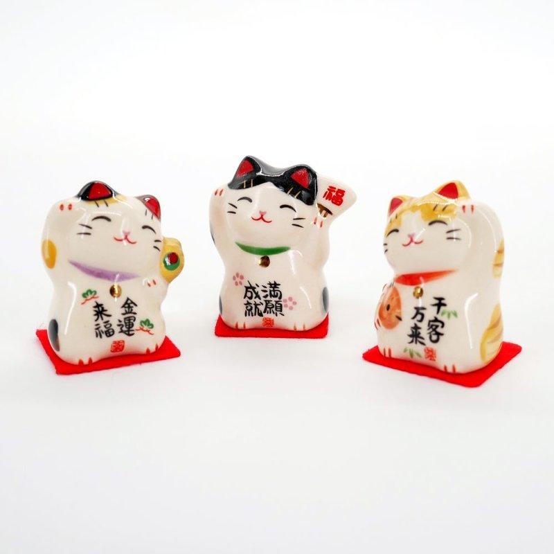 Maneki Neko Japans gelukskatje voor veel klanten