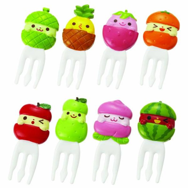 Cute fruit picks