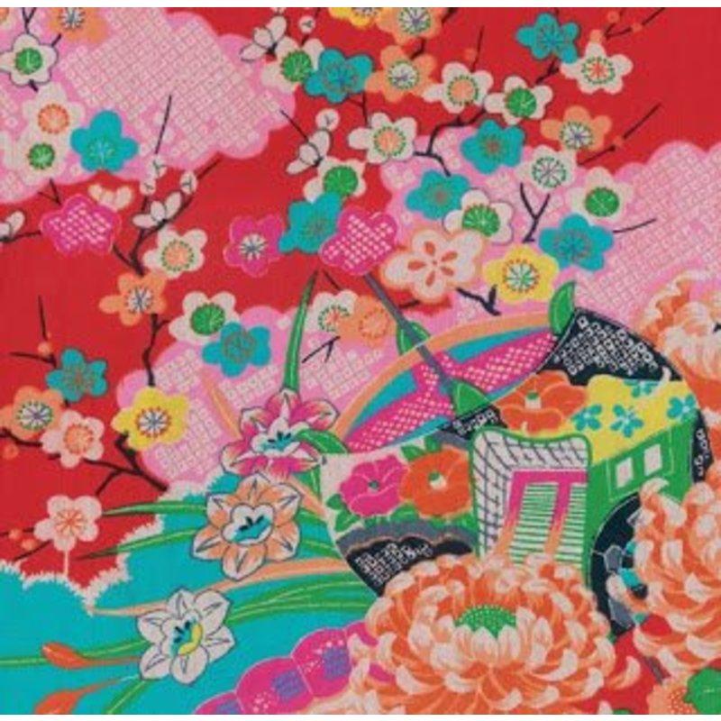 Kimono Gift Wrapping Paper