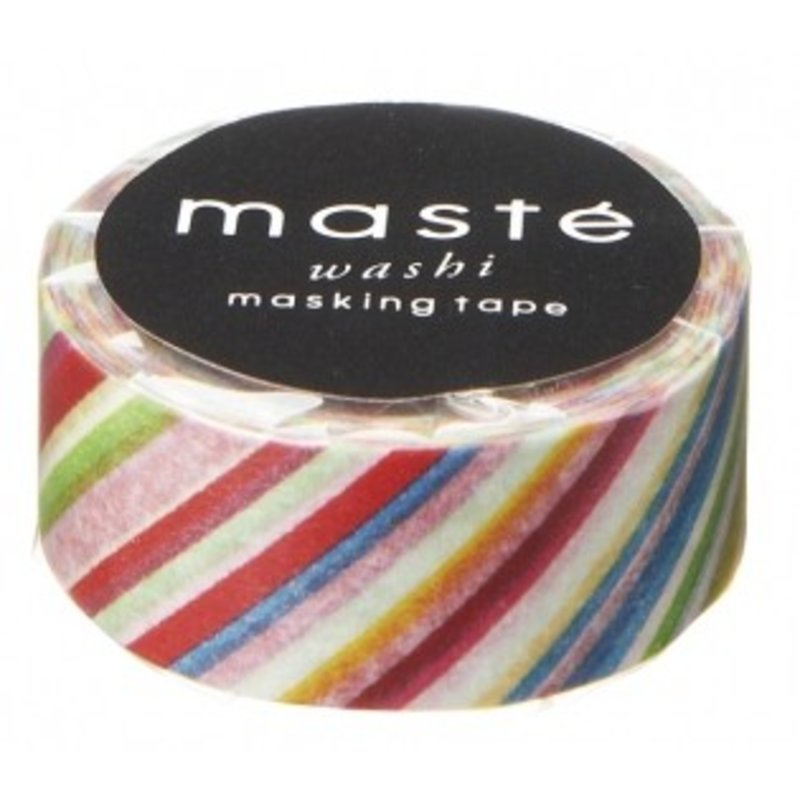 Masking Tape Colorful Stripes