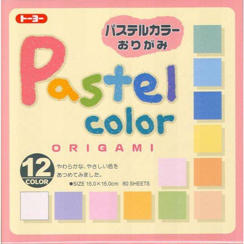 Japans origami papier pastel kleuren