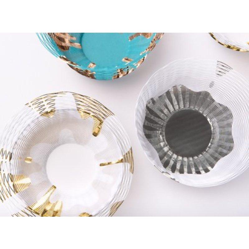 Air vase porselein serie van Torafu architects
