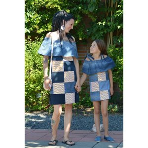 Girls Dress Wealth Inspired
