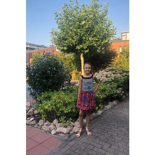 Kinderrokje Lanja van kleurrijke Afrikaanse katoen