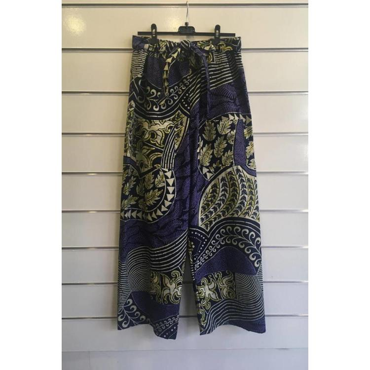 Palazzo trousers Lanja made of African cotton fabric