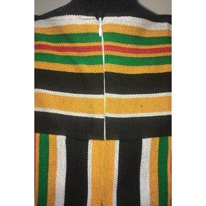 Jurk Tamale van handgeweven Batakari stof