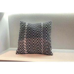 Pillow Strength made of handwoven Kente fabric