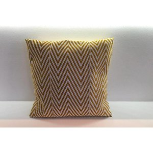 Pillow Wealth made of handwoven Kente fabric