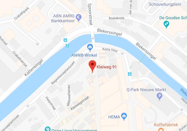 Adres; Kleiweg 91, Gouda