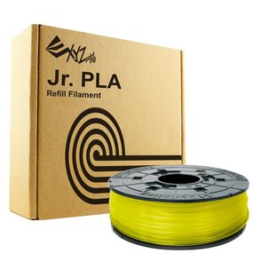 XYZprinting Junior / Mini PLA - Clear Yellow - 600 gram