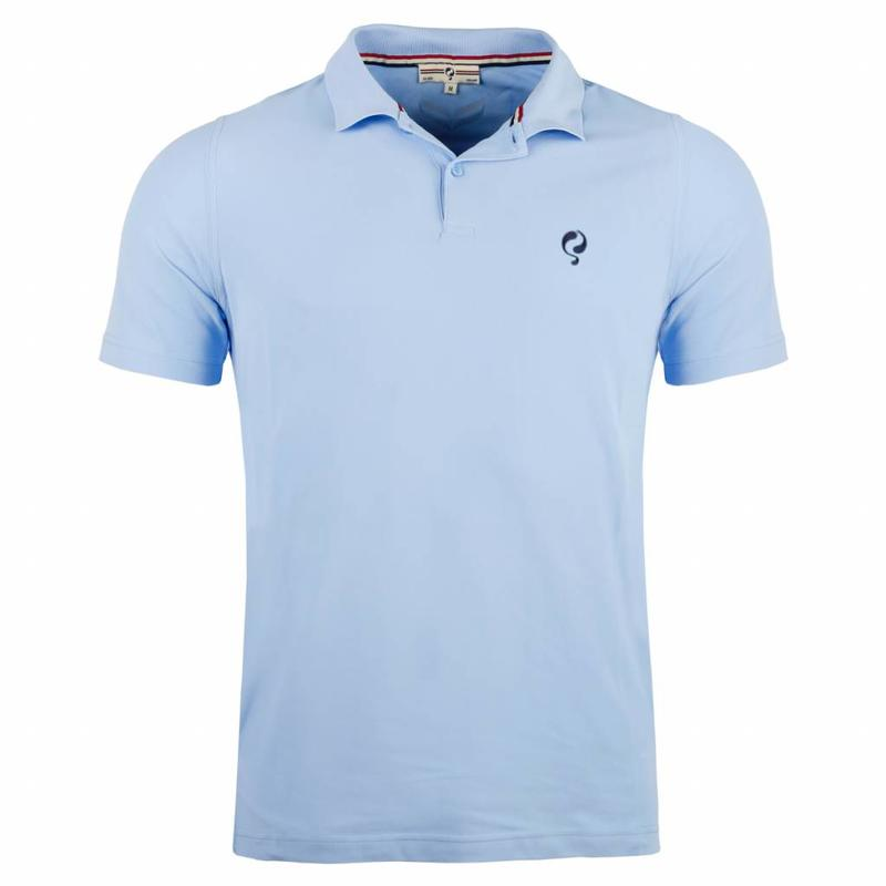 Q1905 Men's Polo JL Flag Lt Azul