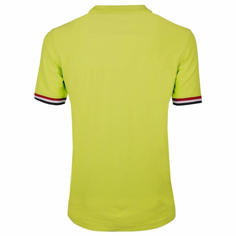 Q1905 Heren JL Polo Soft Lime