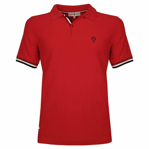 Heren JL Polo Red