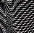 Q1905 Dames Polo Square Black / White