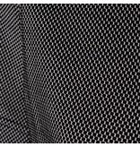 Q1905 Women's Golf Polo Square Black / White