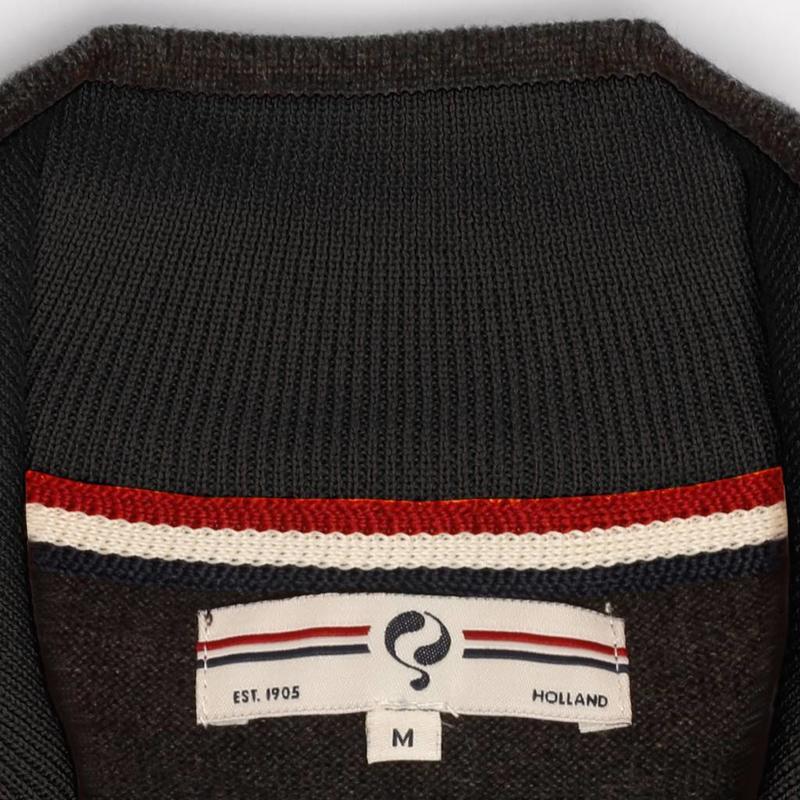 Q1905 Men's Pullover Half Zip Stoke Antracite