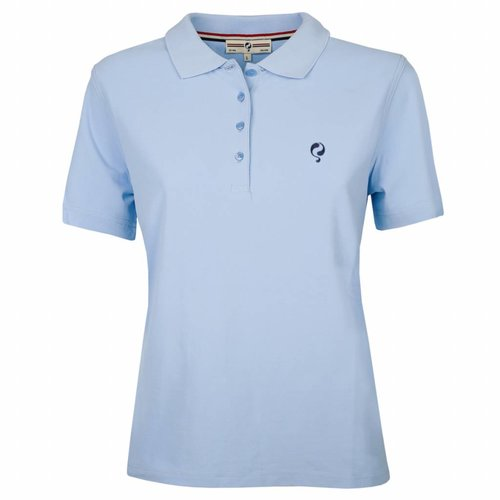 Women's Polo Square Lt Azul
