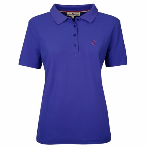 Dames Polo Square Dazzling Blue
