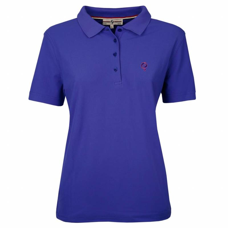 Q1905 Dames Polo Square Dazzling Blue