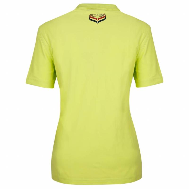 Q1905 Dames Polo Square Soft Lime