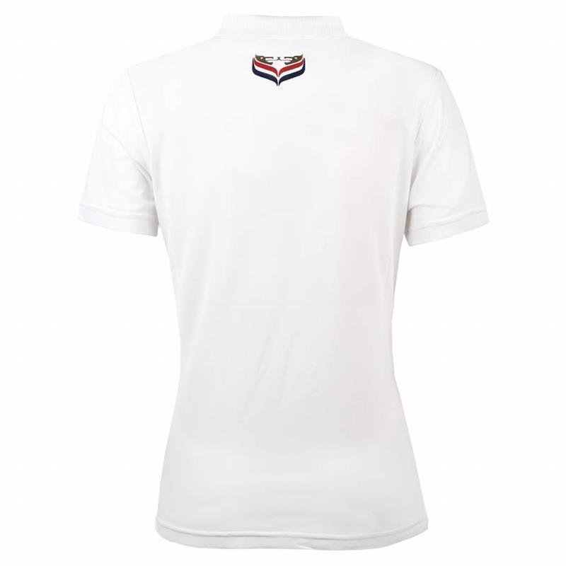 Q1905 Women's Polo Square White