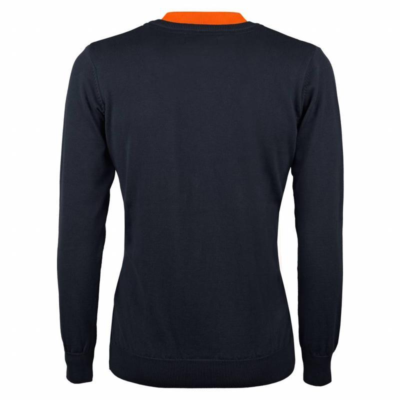 Q1905 Men's Pullover V-neck Marden Deep Navy