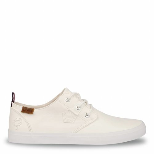 Men's Sneaker Elba White / Orange Lace