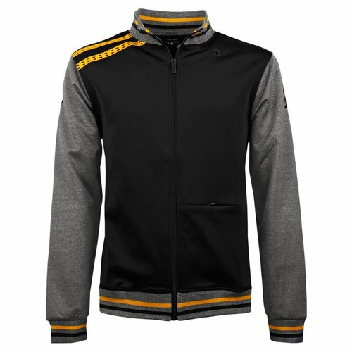 Tennis Jacket Slice Black / Grey / Yellow